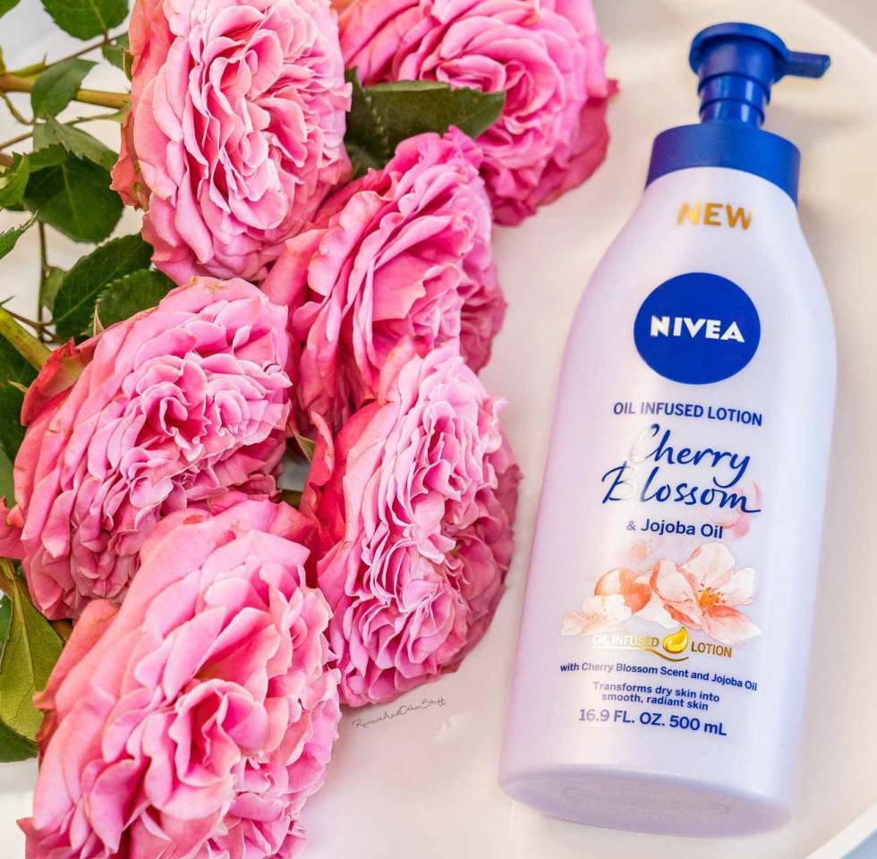 Nivea Cherry Blossom And Jojoba Oil Infused Lotion review