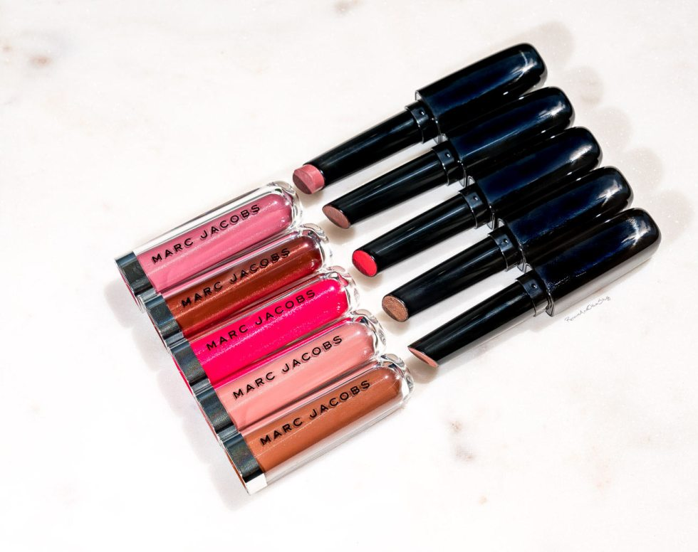 marc jacobs enamored lip glosses review