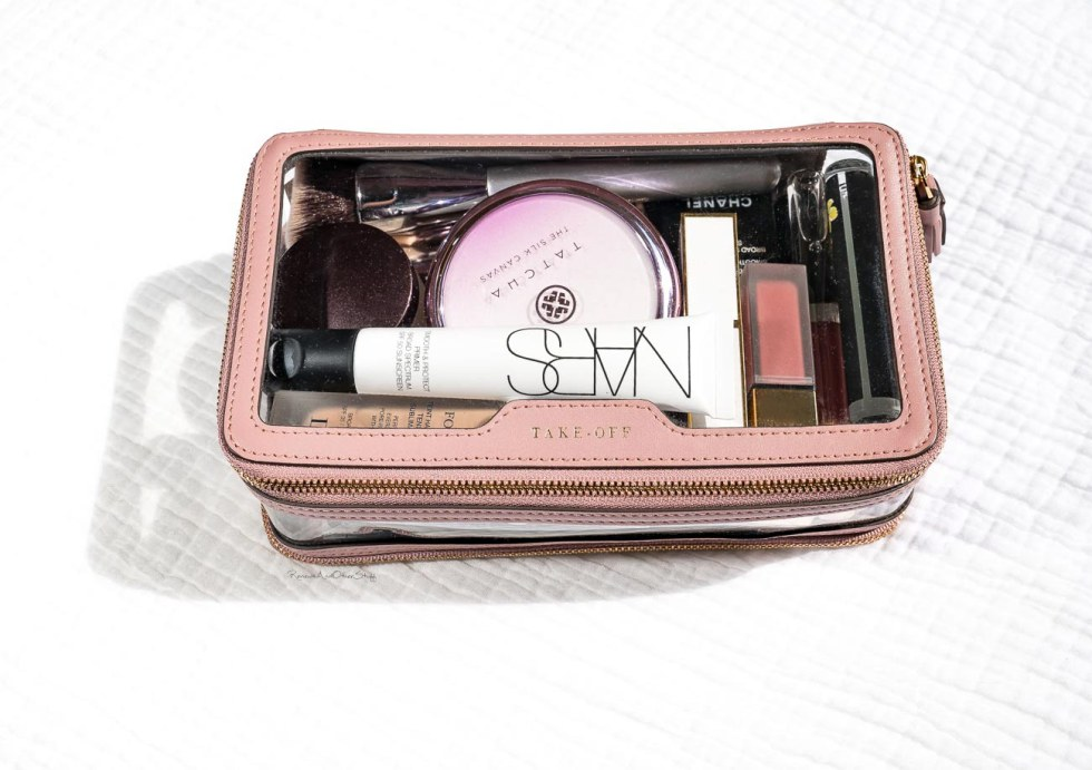 Anya Hindmarch In-flight Case in Blush