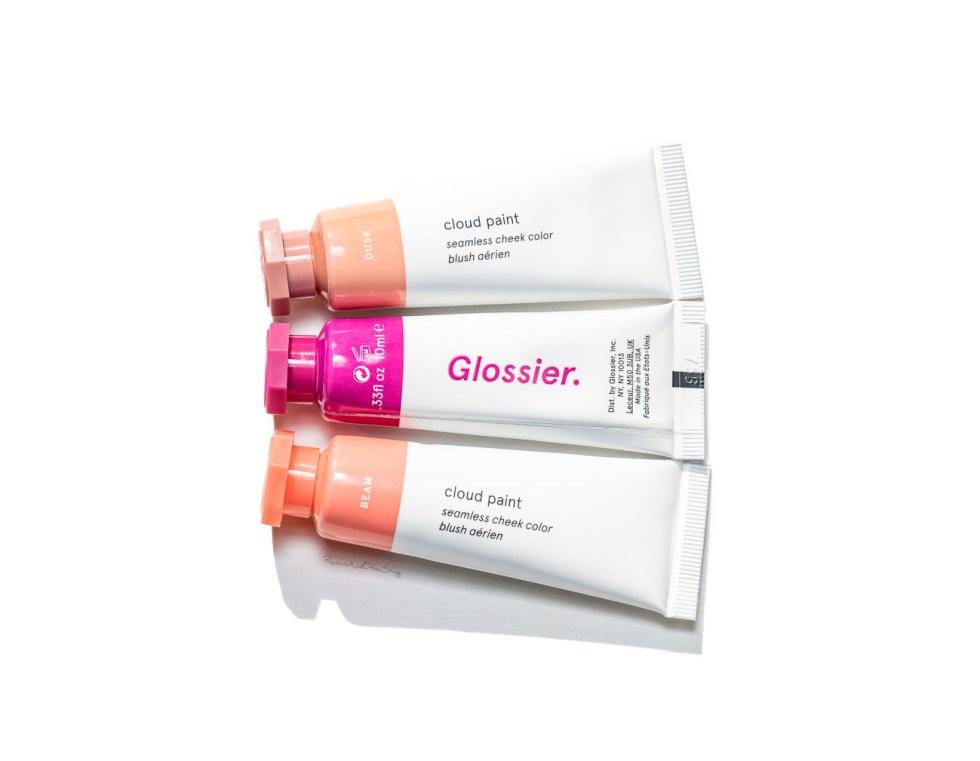 glossier cloud paint review