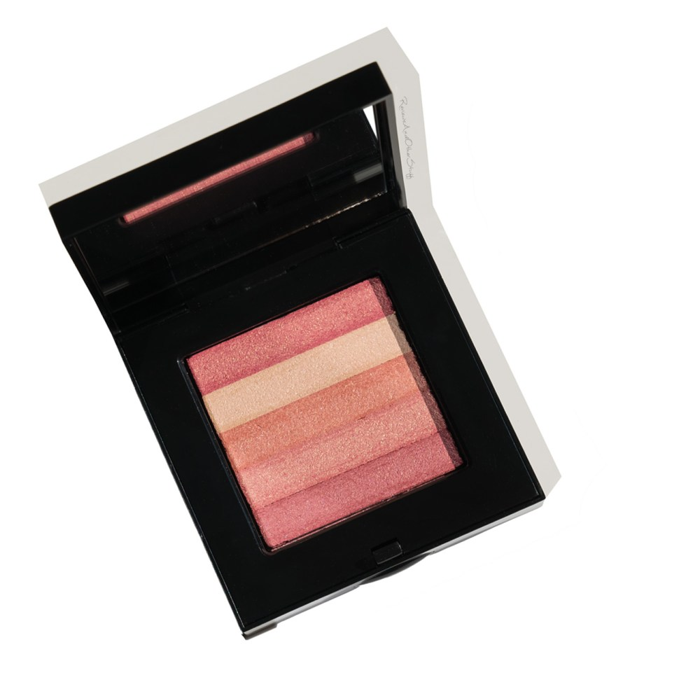 bobbi brown shimmer brick in nectar review