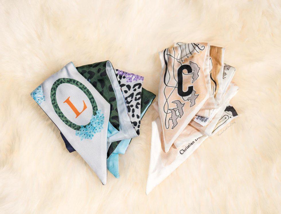 dior scarf