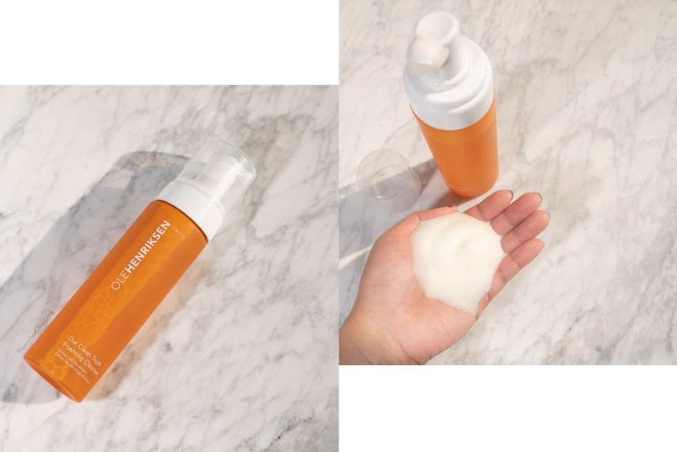 olehenriksen the clean truth foaming cleanser review
