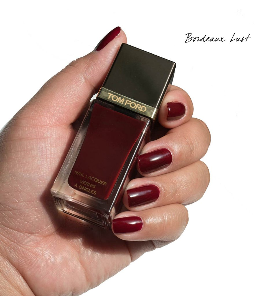 tom ford bordeaux lust nail lacquer