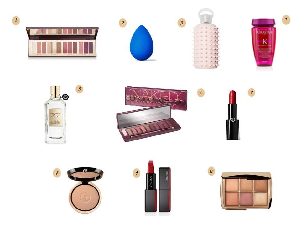 Sephora Holiday Bonus Beauty Insider Event 2018 Wishlist