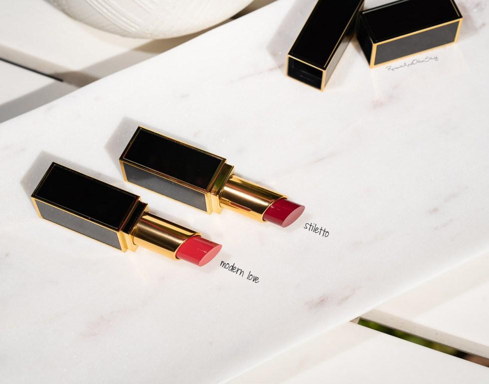 tom ford lip color satin matte in stiletto and modern love