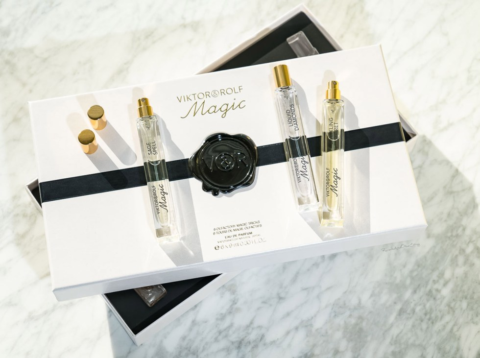 Viktor&Rolf Magic Collection in sage spell, liquid diamonds, dancing roses review