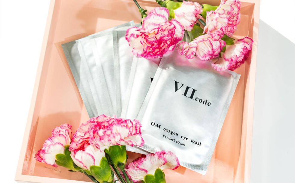VII Code O2M Oxygen Eye Mask For Dark Circles Review