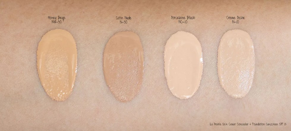 La Prairie Skin Caviar Essence-In Foundation Broad Spectrum SPF 15 Sunscreen swatch