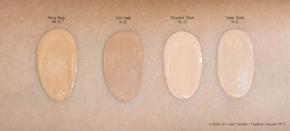 La Prairie Skin Caviar Essence-In Foundation Broad Spectrum SPF 15 Sunscreen swatch