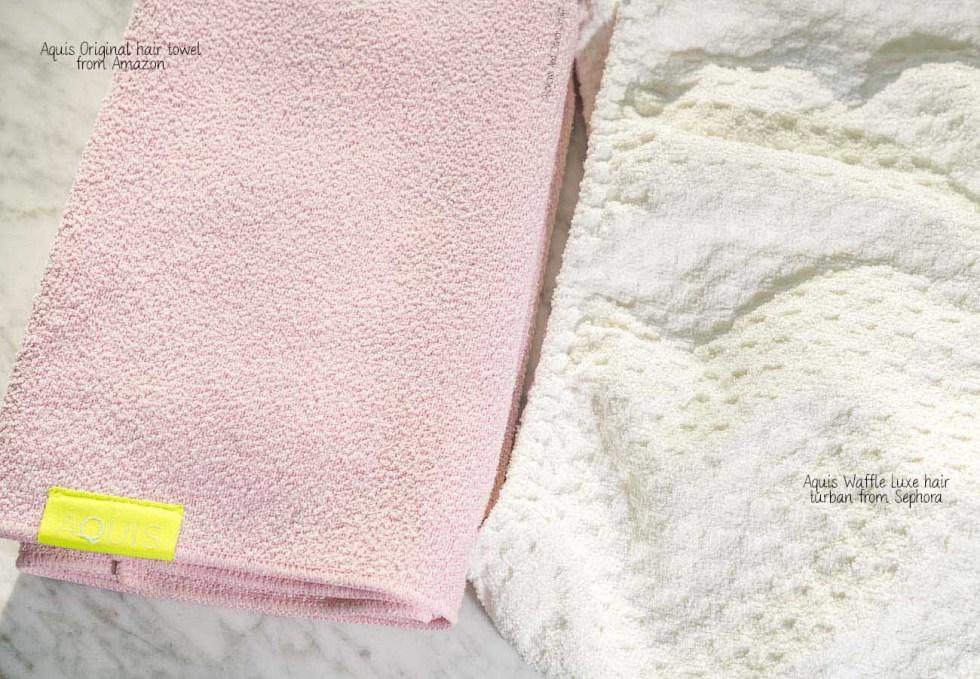 aquis original hair towel review