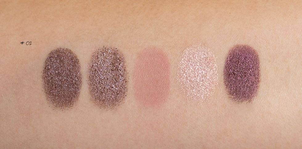 Natasha Denona Eyeshadow Palette 5 in #02 swatch