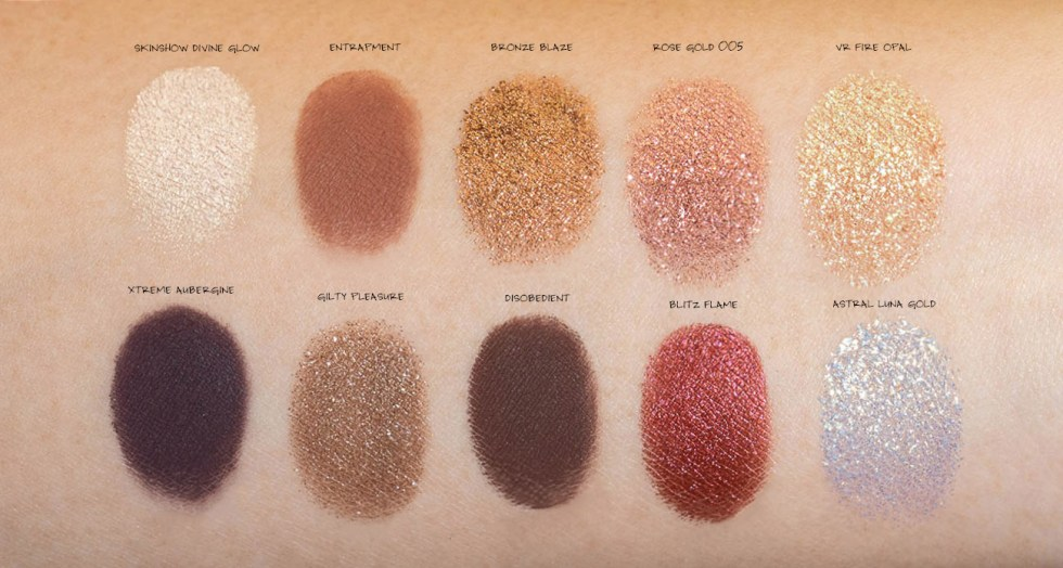 Pat McGrath Labs Mothership V Bronze Seduction Eyeshadow swatch