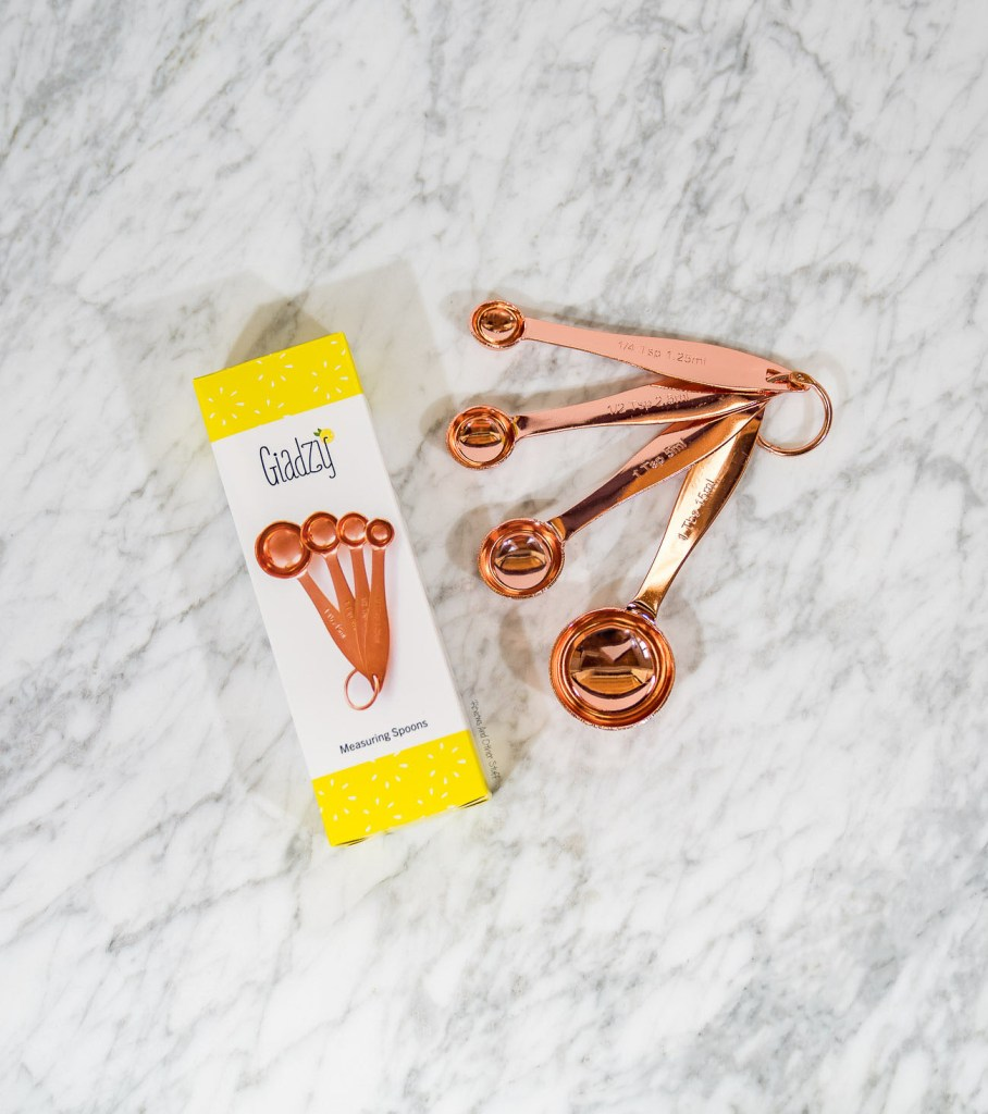 Giadzy Copper Plated Measuring Spoons