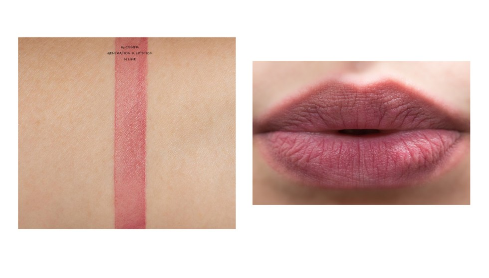 glossier generation g lipstick in like