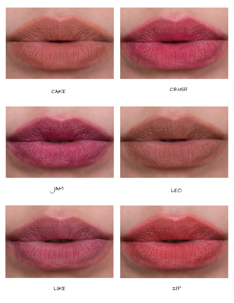 glossier generation g sheer matte lipstick review lip swatches