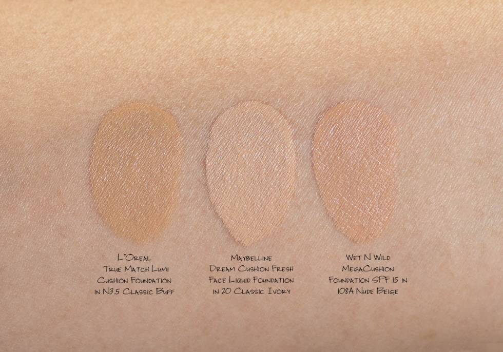 L'Oreal True Match Lumi Cushion Foundation in N3.5 Classic Buff
