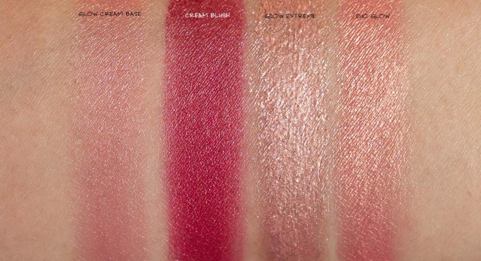 Natasha Denona Bloom Blush & Glow Palette swatches