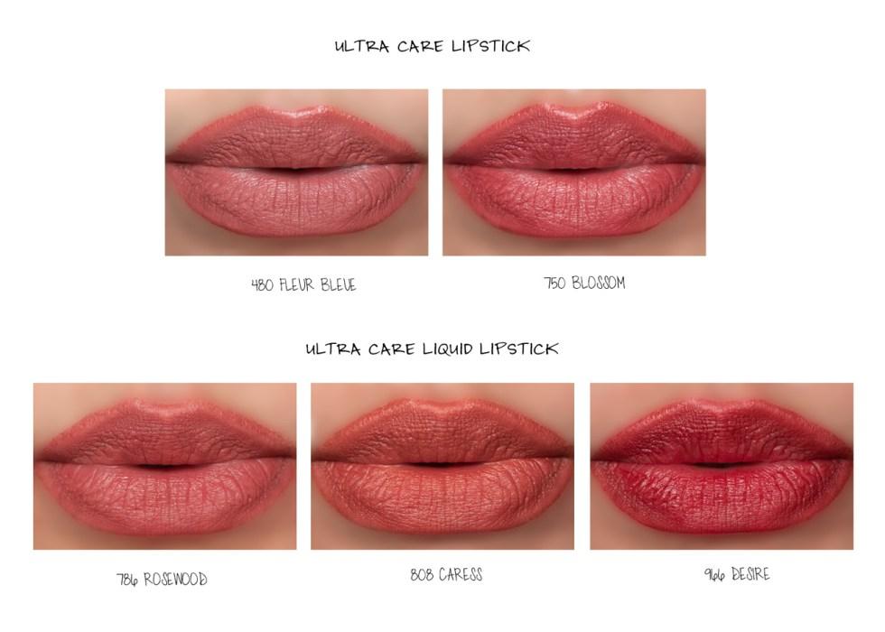 Dior Rouge Dior Ultra Care Lipstick & Liquid Lipsticks lip swatches