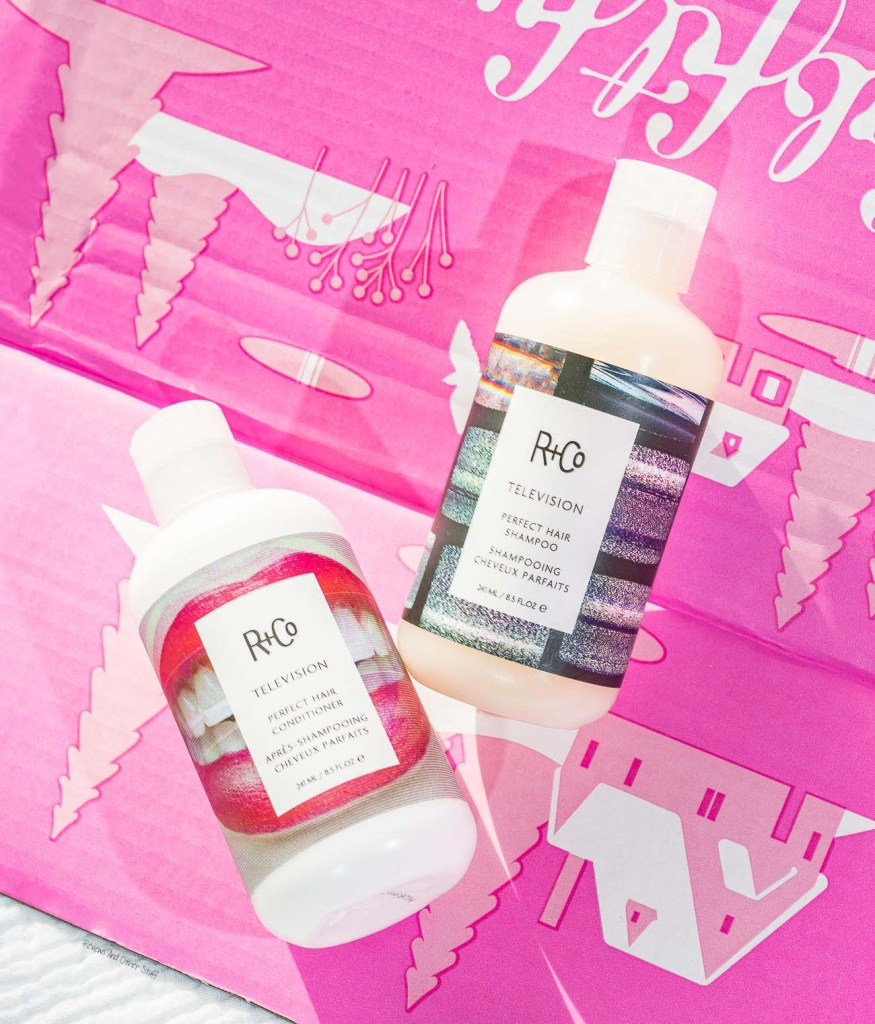 R+Co Television Perfect Hair Shampoo+Conditioner review