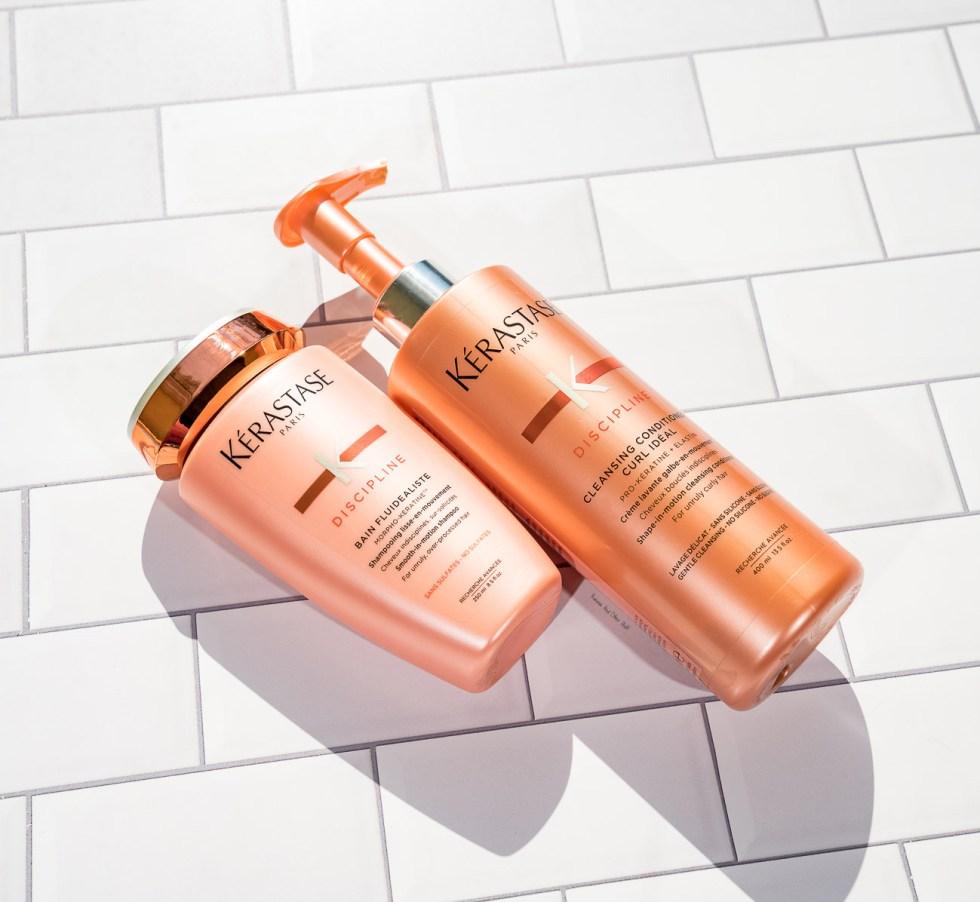 Kerastase Discipline Sulfate-Free Smoothing Shampoo & Cleansing Conditioner