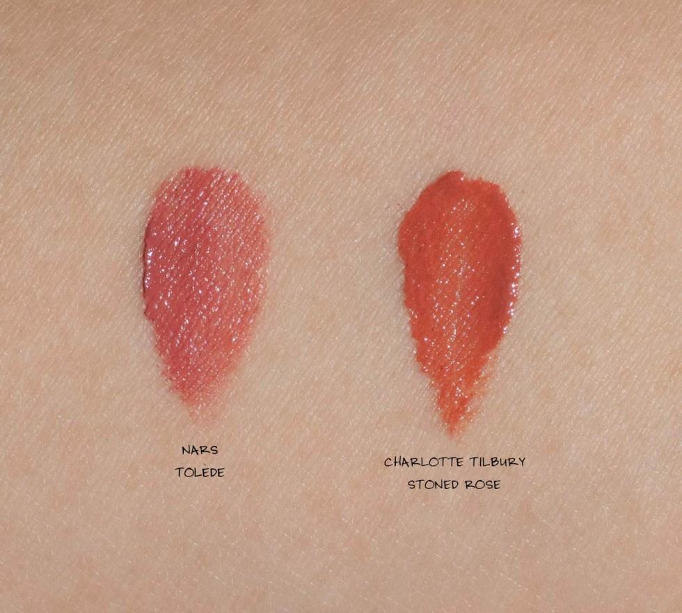 nars satin lipstick tolede swatch