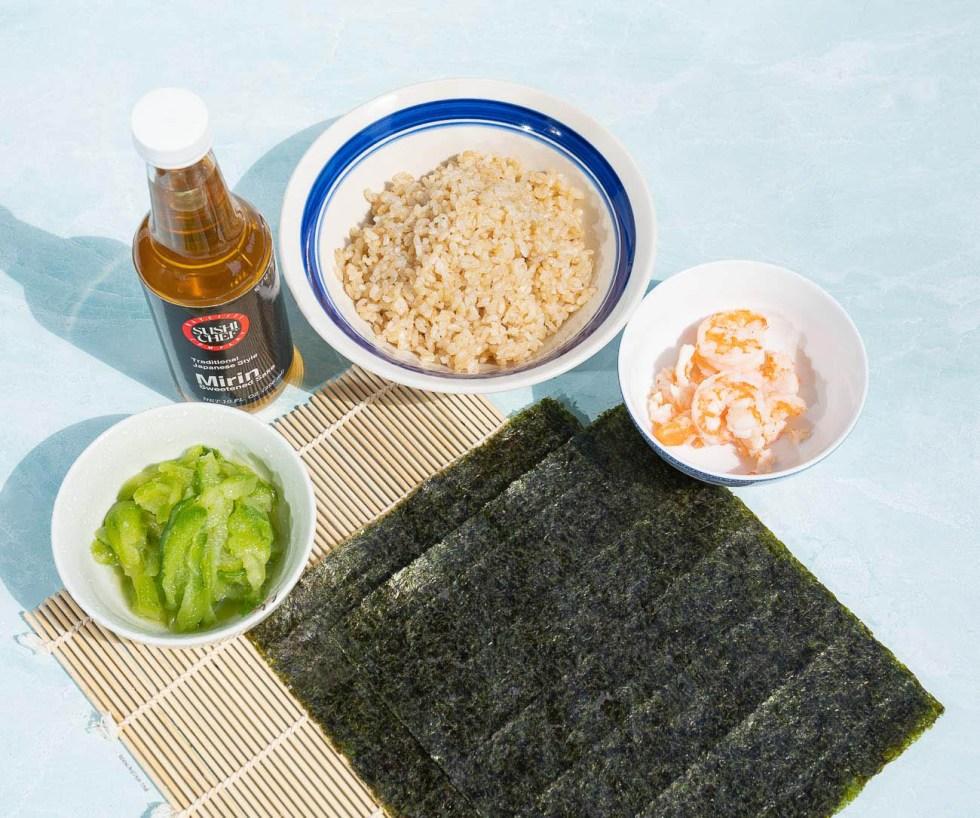 simple sushi ingredients