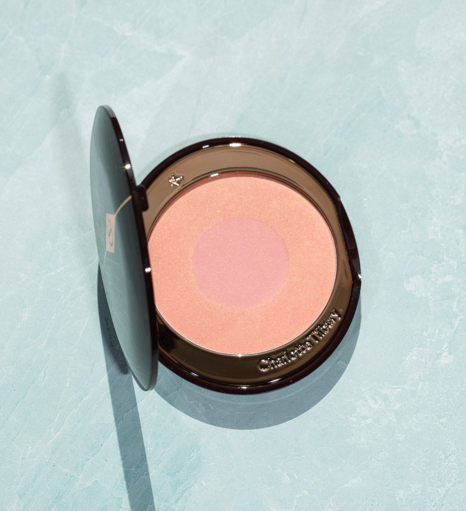 charlotte tilbury cheek to chic blush love glow review