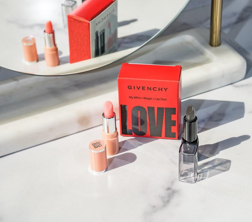 Givenchy Mini Magic Lip Duo Set in Perfect Pink & Noir Révélateur