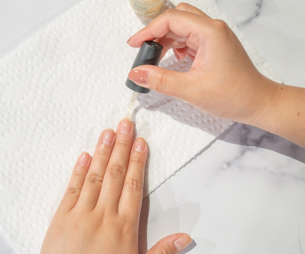 home nail care process