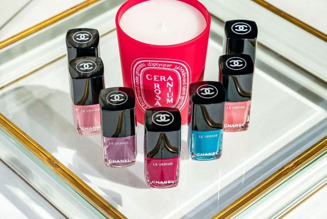 chanel mirage nail polish