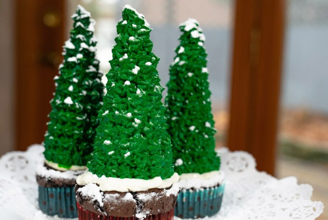 christmas cupcake muffin brownie recipe
