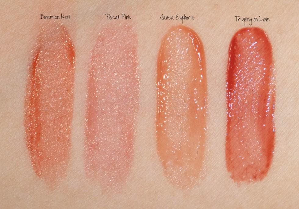 charlotte tilbury tinted love lip cheek tint swatches