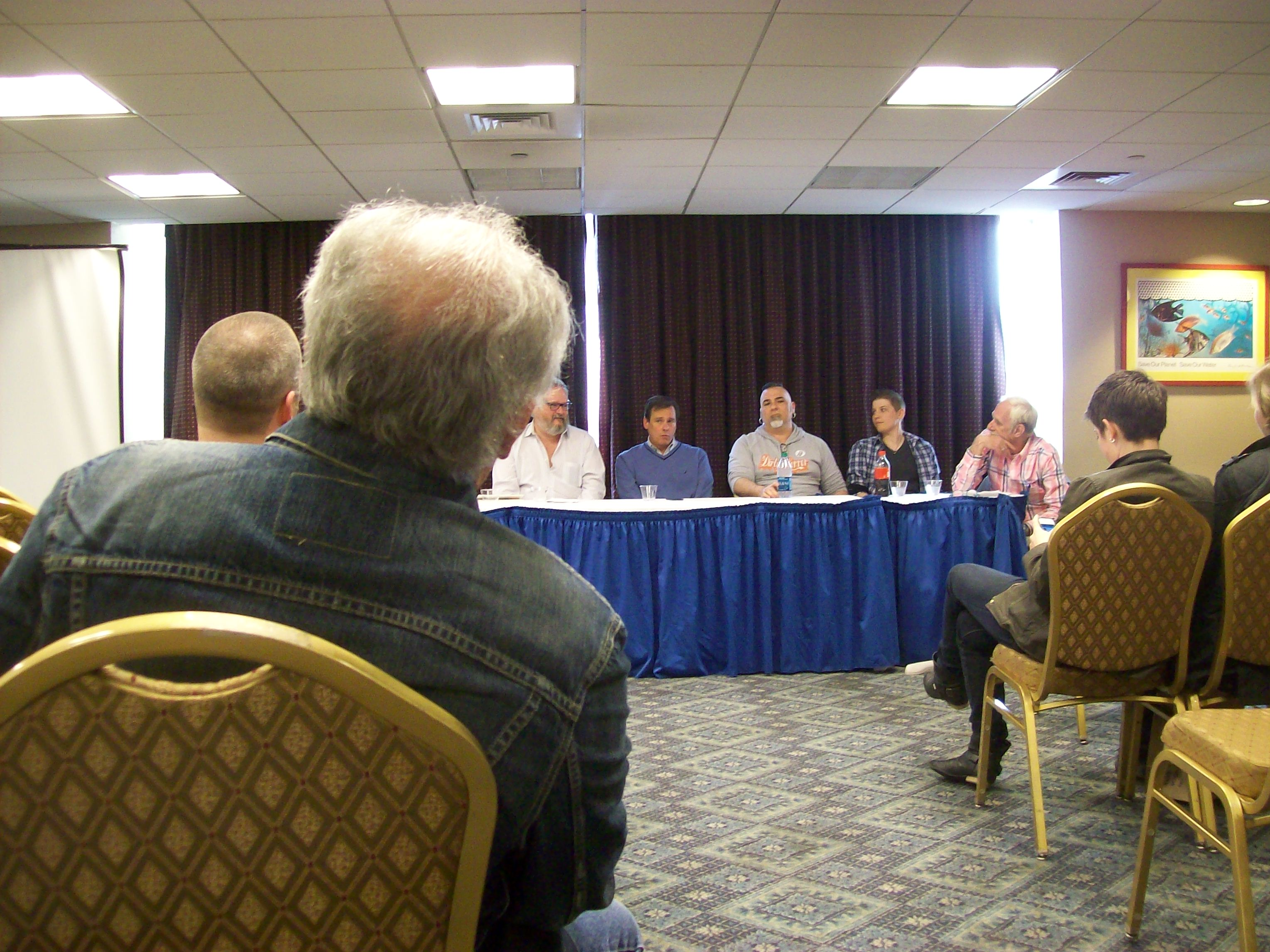 rainbow book fair�pictures from the gay sleuths panel