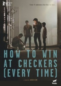how to win at checkers poster