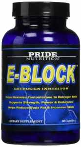Estrogen Blocker PCT Post Cycle Therapy DIM Aromatase Inhibitor E-Block 60 Pills