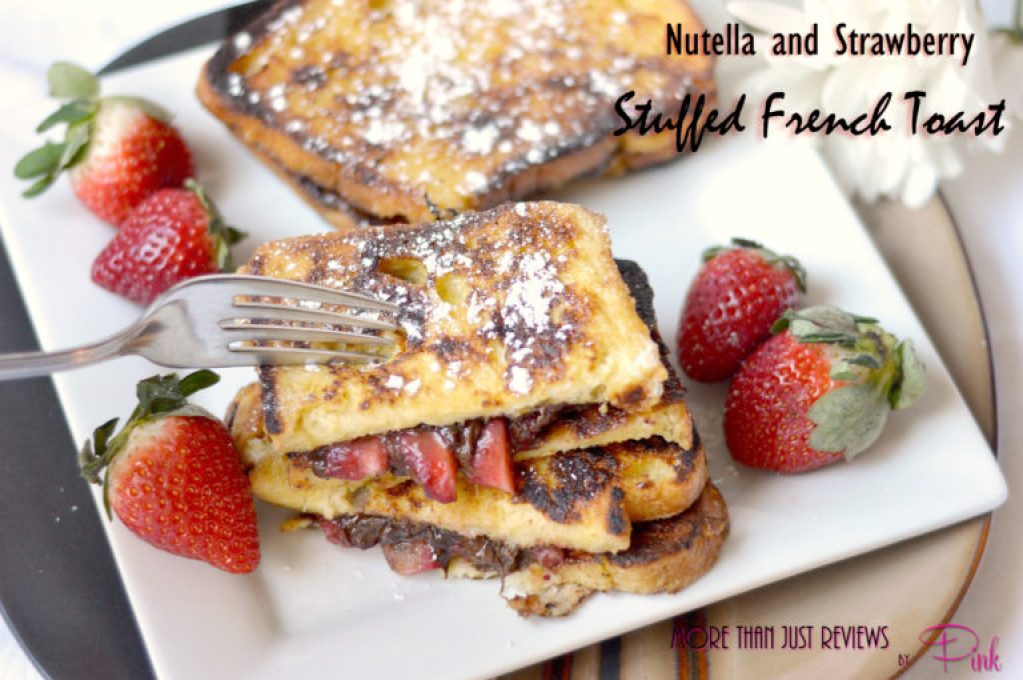 Nutella and Strawberry Stuffed French Toast2