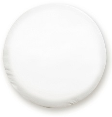 ADCO 1757 Polar White Vinyl Tire Cover J
