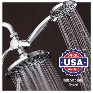 Aqua Dance 7 Premium High Pressure 3-way Rainfall Shower Combo-min