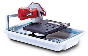 MK Diamond 160028 MK 377 Horsepower 7 Inch Wet Tile Saw