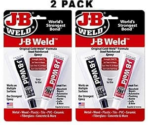 J-B Weld 8265S Original Steel Reinforced Epoxy Twin Pack