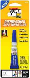 Super Glue 15171-12 Dishwasher Safe Glass Glue Tube