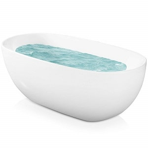 AKDY Bathroom White Color FreeStand Acrylic Bathtub AZ-F277