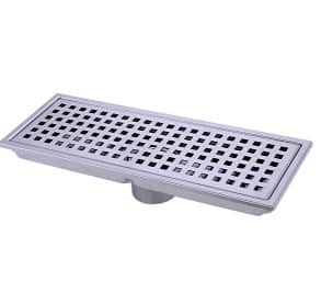 HANEBATH Linear Shower Floor Drain with Removal Cover - Made of Sus304 Stainless Steel