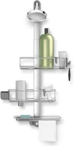 Stainless Steel Anodized Aluminum Shower Caddy