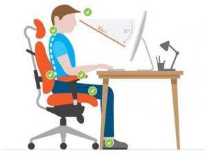 Sitting Position on Gaming Chairs