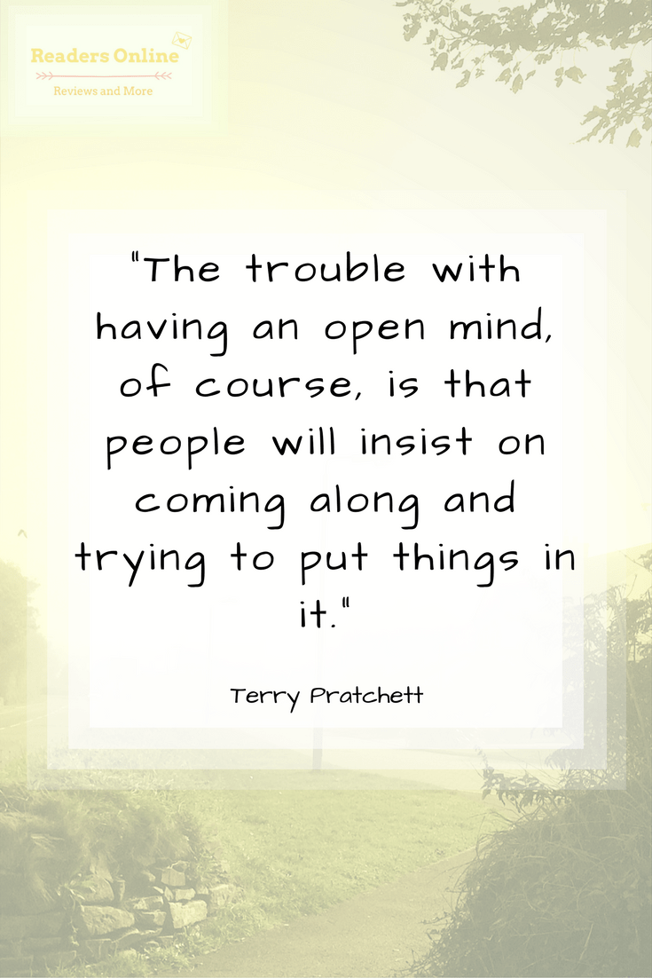 Terry Pratchett Open Mind Quote