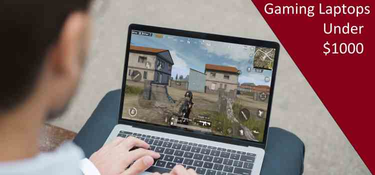 best gaming laptop under $1000