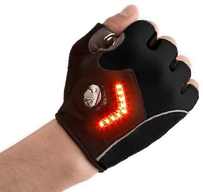 Bike Gloves With Turn Signal
