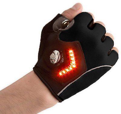 Bike Gloves With Turn Signal
